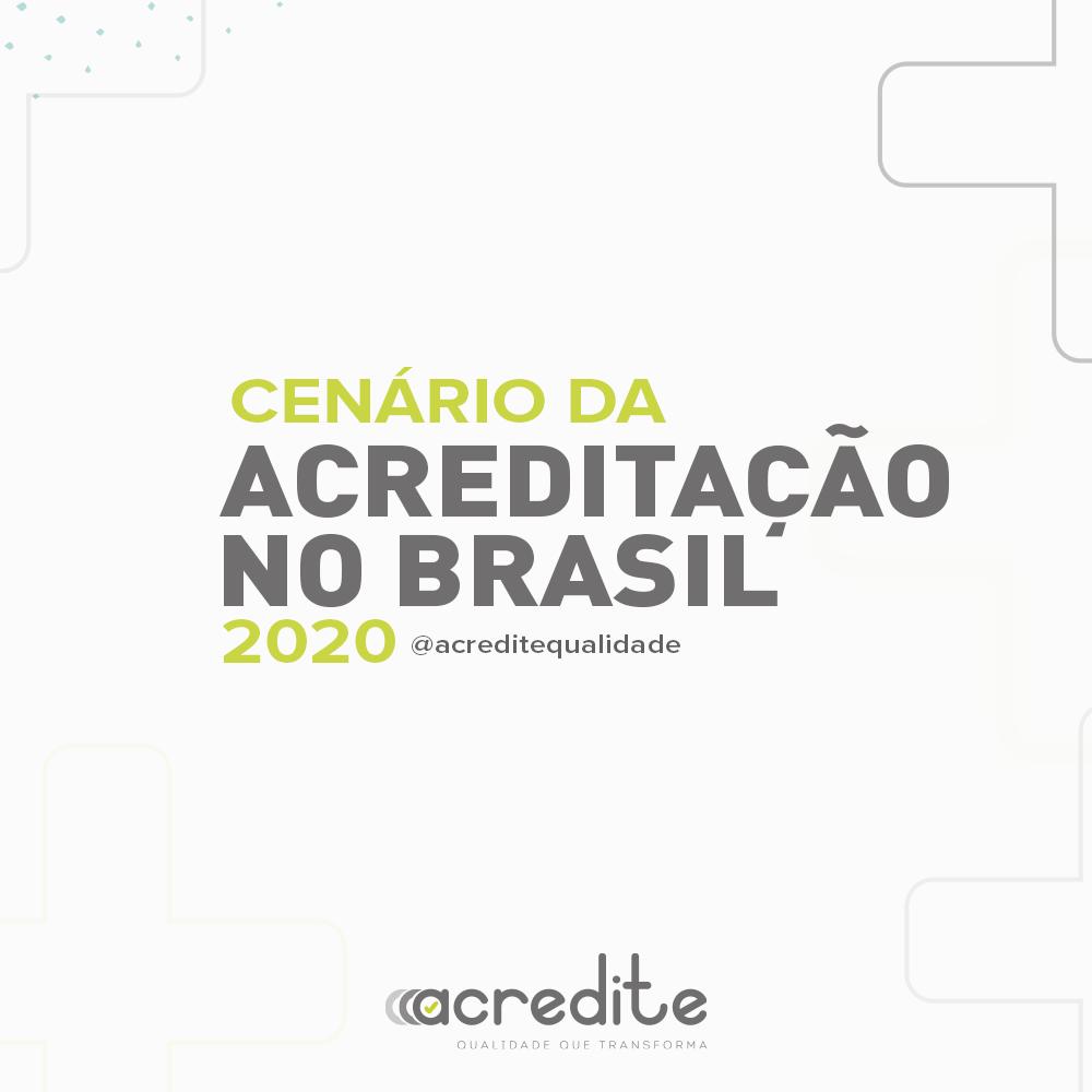 Cenário da Acreditação no Brasil em 2020